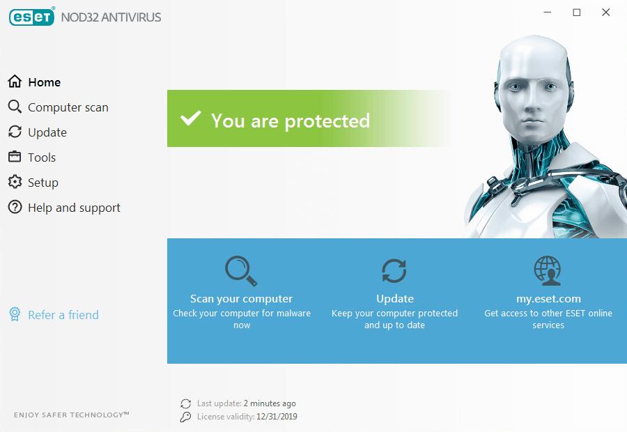 ESET NOD32 Antivirus Crack 2020 License Key Full Version {updated}