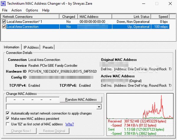 Change Mac Address Crack 3.7.0 + Keygen Free Download [2020]