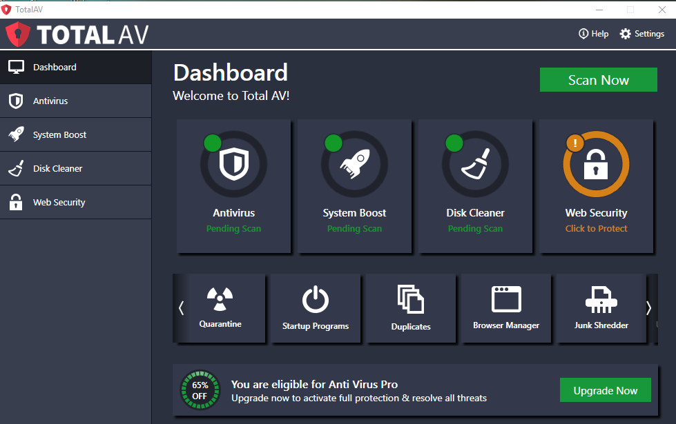 Total AV Antivirus 2020 Crack With New Activation Key Latest Download