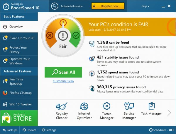 Auslogics BoostSpeed Premium 11.4.0.3 Crack Free Download