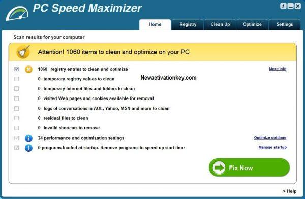 PC Speed Maximizer free