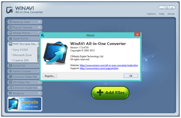 WinAVI All In One Converter Crack & Keygen Download [2020]