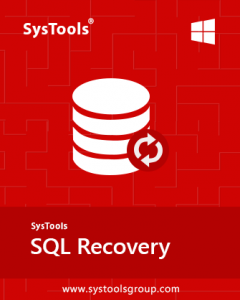 SysTools SQL Recovery v13.0 Crack + Offline Activation 2021 Download